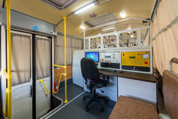 Цифровая электротехническая лаборатория ULTRA на базе УАЗ 3909