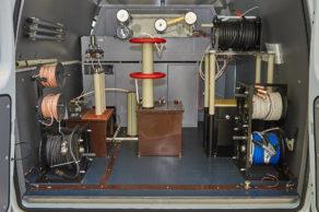 Передвижная трансформаторная электролаборатория