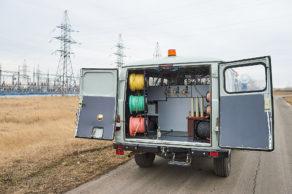Лаборатория высоковольтных испытаний ЛВИ на базе УАЗ 3909
