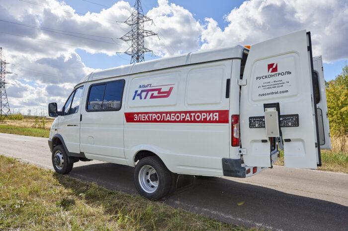 Передвижная высоковольтная цифровая электролаборатория ULTRA