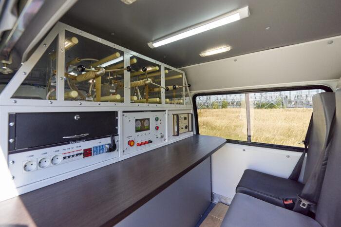 Цифровая передвижная электролаборатория ЭТЛ ULTRA
