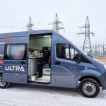 Передвижная высоковольтная цифровая ЭТЛ ULTRA Electric 100