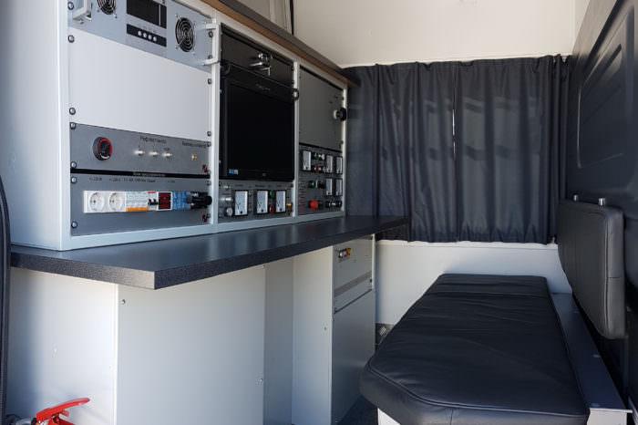передвижная высоковольтная лаборатория лви
